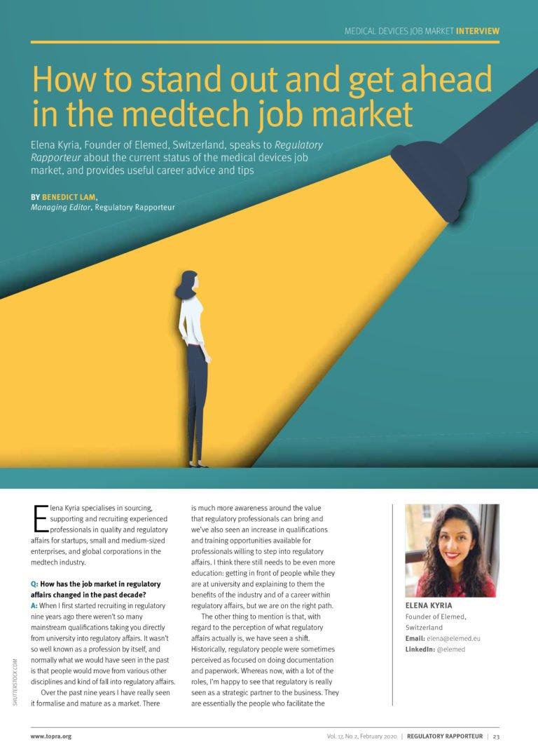 Topra Interview - Career Tips - Medtech