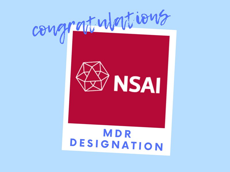 Congrats to your MDR designation
