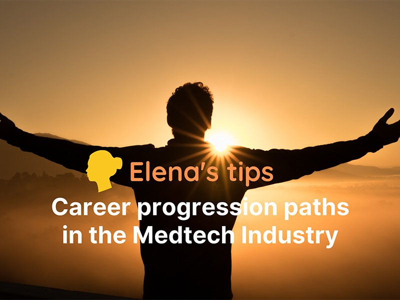 Career progression paths in the Medtech industry