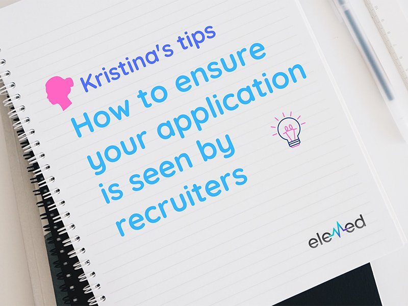 How to ensure your application is seen by revruiters
