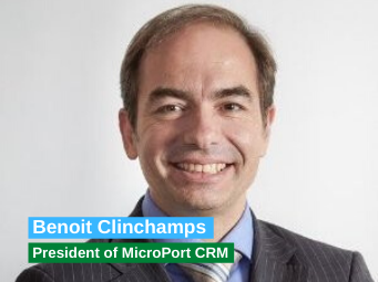 Benoit Clinchamps - President of MicroPort CRM