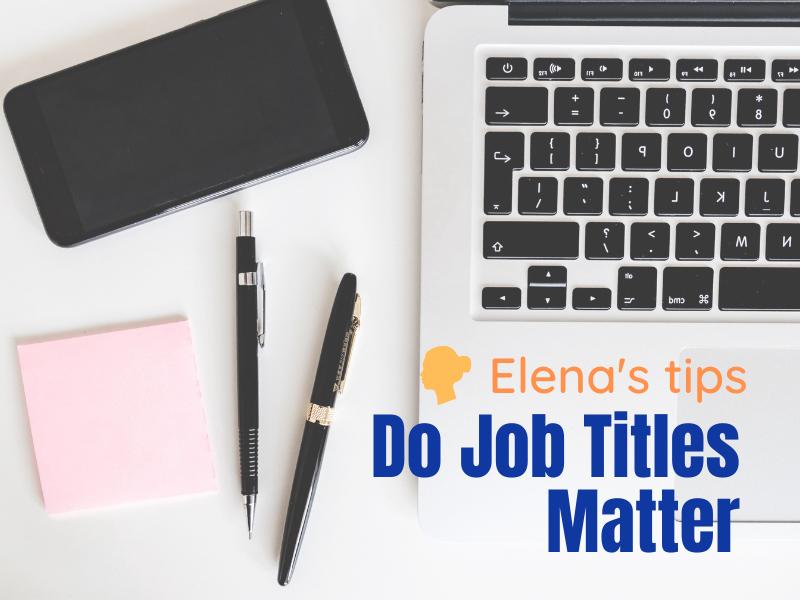 Do job titles matter