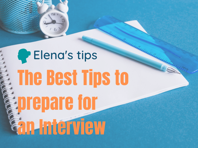 Tips to prepare for an interview