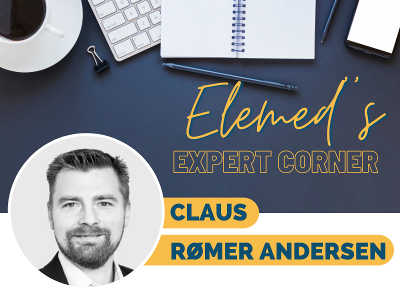 Claus Rømer Andersen, CEO of Rømer Consulting ApS,