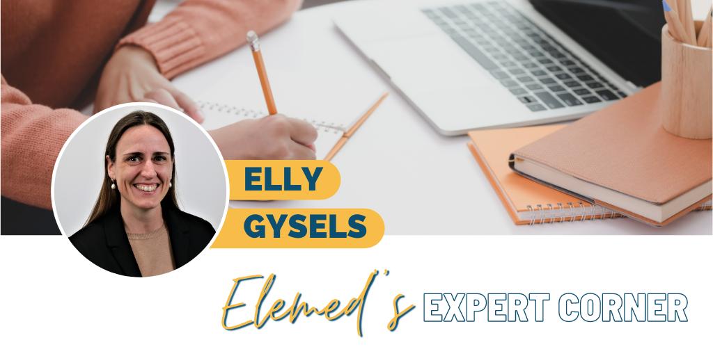 Elly Gysels Elemed Expert Corner banner