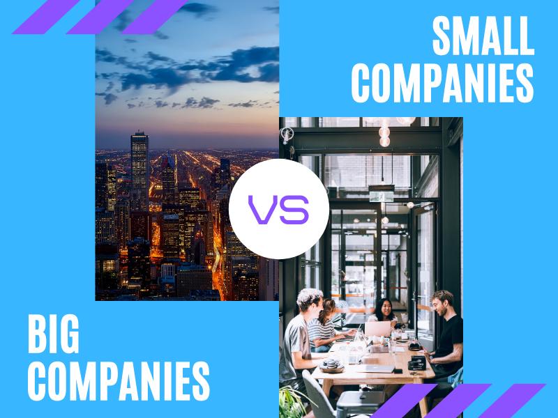 Big versus Small Companies