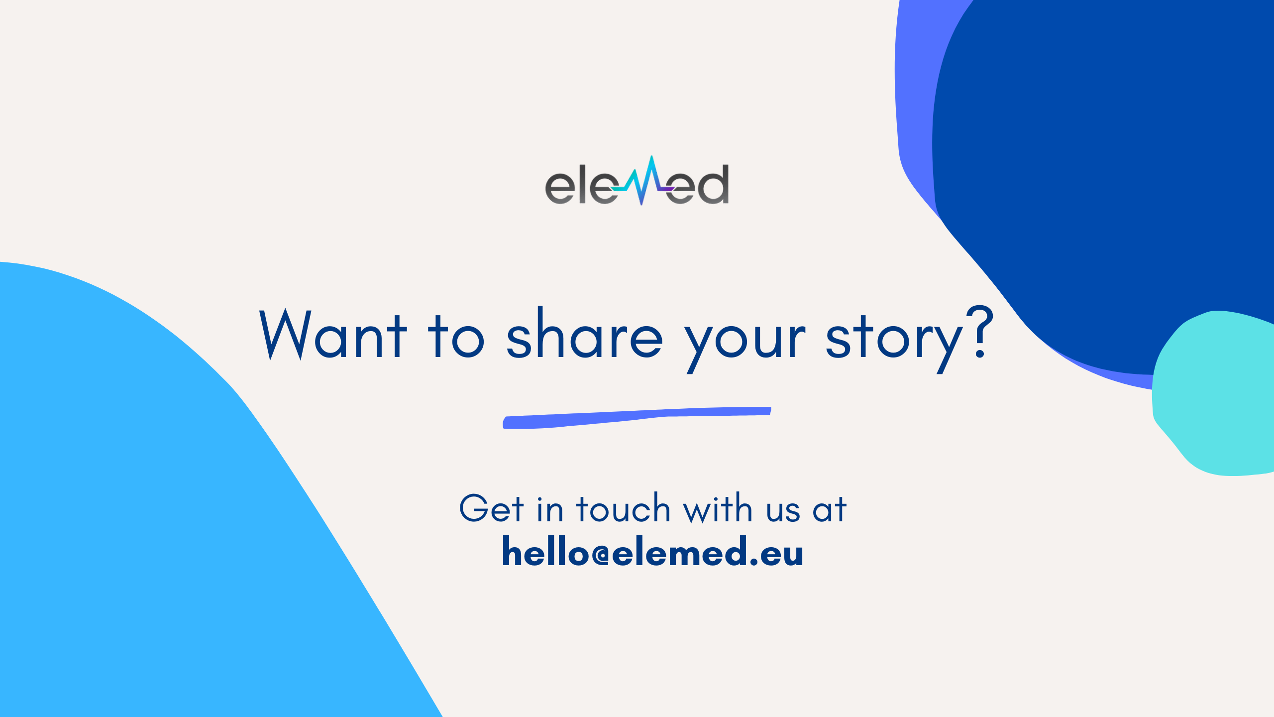 Want to share your story? A Day In the Life Of...